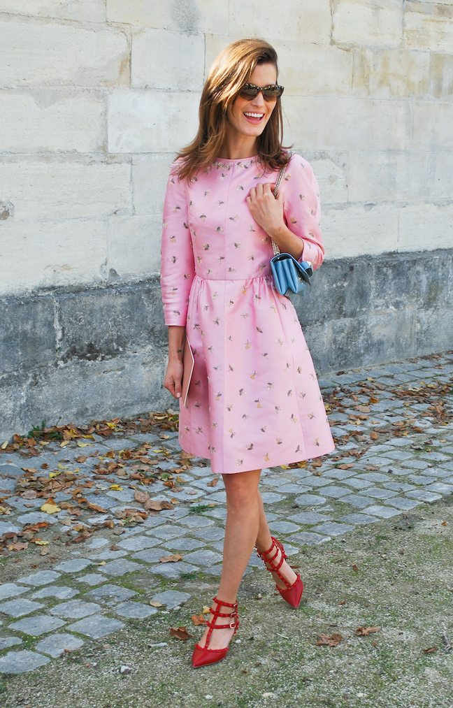 Hanneli-Mustaparta-pink-Valentino-Paris-Fashion-Week